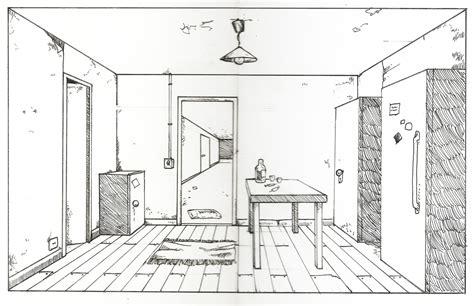 chambre en perspective perspective d 39 une chambre dessin gascity for