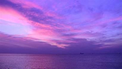 Purple Miami Clouds Sky Teal Sunrise Fathers