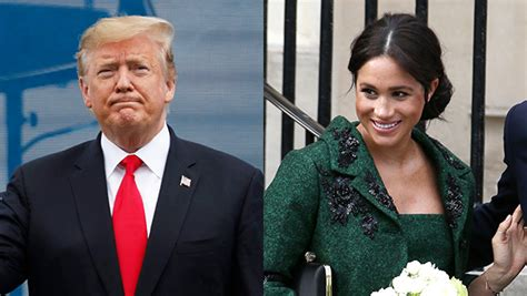 Donald Trump Disses Meghan Markle Nasty Over Her