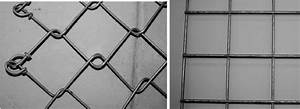 Chain Link And Welded Wire Mesh Respectively