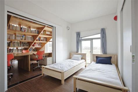 canap avec biblioth que int gr e escalier toboggan d 39 intérieur pour transformer la maison