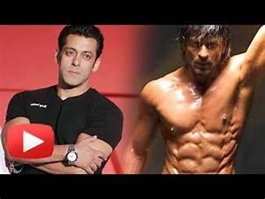 Shahrukh Khan 10 Pack Abs | Salman Khan Reacts - YouTube