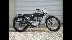 1957 Triumph Tiger Cub T20c  U0026quot Competition U0026quot  Model Fired
