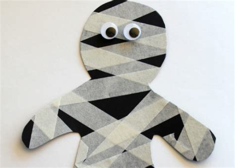 Fun And Easy Mummy Halloween Craft Ideas For Kids