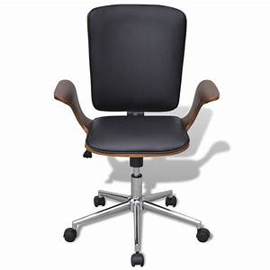 Chaise De Bureau Solde : acheter chaise de bureau rotative en bois cintr avec ~ Teatrodelosmanantiales.com Idées de Décoration