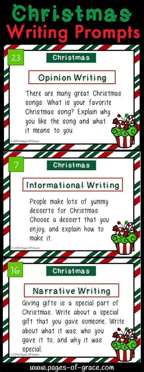 christmas writing prompts task cards christmas writing