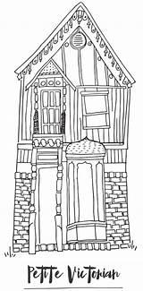 Coloring Tiny Activity Dana Reinert Tinyhousetalk sketch template