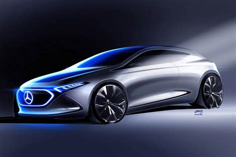 Whoops The Mercedes Eqa Concept Isnt A Sedan After All