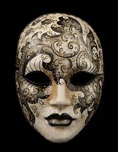 Masque Pour Peinture : masque de venise visage haut de gamme noir et blanc cr me ~ Edinachiropracticcenter.com Idées de Décoration