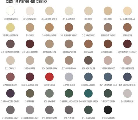 Colorfast Tile And Grout Caulk Pewter by Polyblend Grout Renew Color Chart Search New