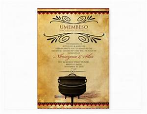 south african traditional wedding invitation cards With south african wedding invitations samples