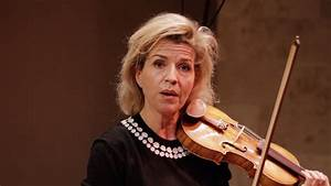 Anne-Sophie Mutter Performs Tchaikovsky and Arthur ...