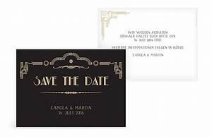 Save The Date Karte : save the date karte golden twenties ~ A.2002-acura-tl-radio.info Haus und Dekorationen