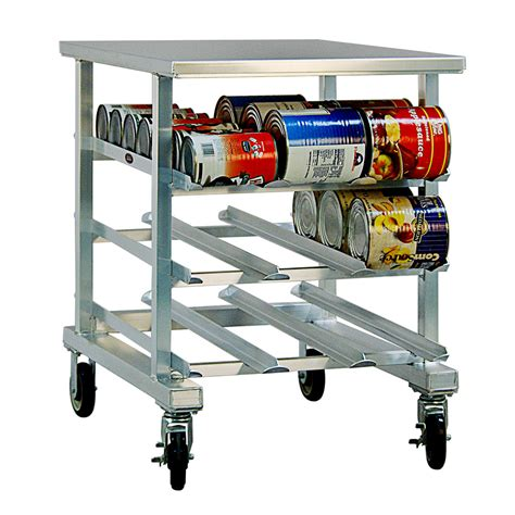 zack kitchen accessories new age 1235 35 quot h mobile can rack w 54 10 or 72 5 1235