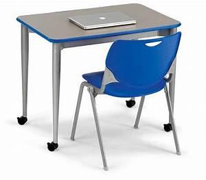 "Smith System Uxl Student Desk (48"" X 24"") - Xl2448   Open ..."