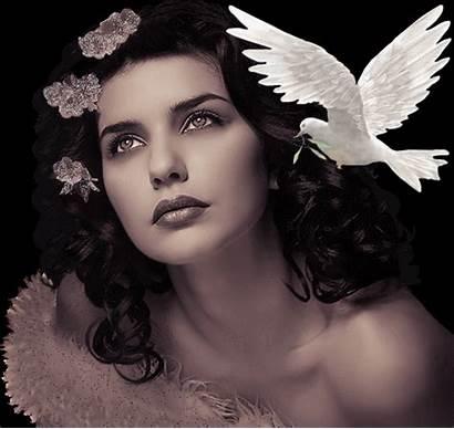 Femme Visage Gifs Beau Mulheres Imagens Ii