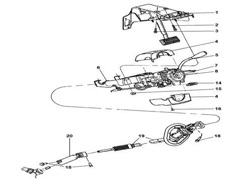 2004 Dodge Ram 1500 Steering Column Diagram