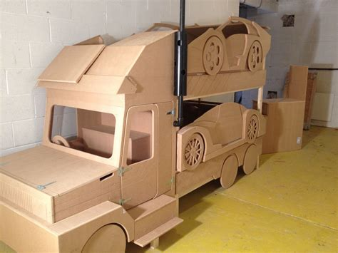 sports car transporter bunk bed  ultimate cool bunk