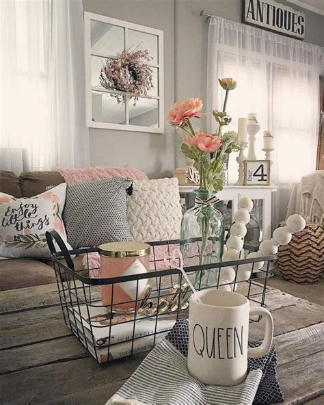 Welcoming Warm Cozy Attic Apartment Rustic Feel by 46 Cozy Farmhouse Living Room Decor Ideas That Make You