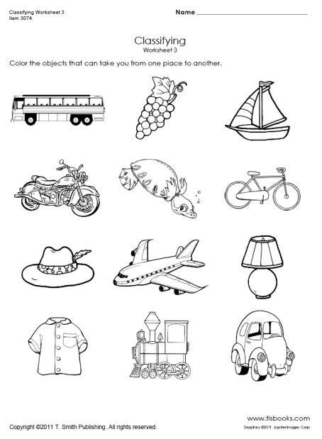 14 Best Images Of Printable Transportation Worksheets  Printable Transportation Activities