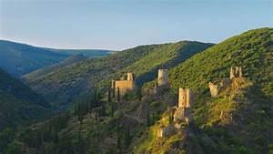 lastours castles wallpaper