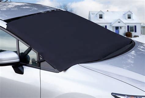Auto Windshield Snow Cover Tarp Ice Scraper Frost Removal