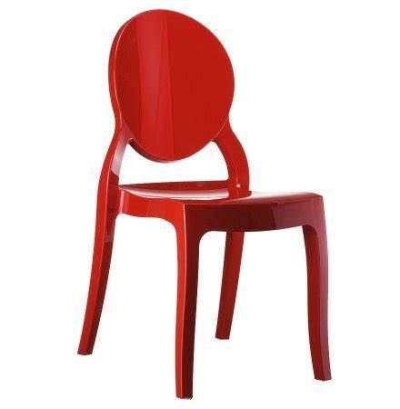 designstoel eliza rode designstoel eliza uit kunststof