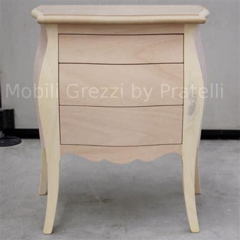 comodini legno grezzo comodini in legno grezzo 28 images comodini grezzi