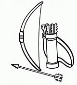 Bow Arrow Archery Clipart Coloring Pages Clip Rama Colouring Cliparts Bows Library Downloadable Drawing Printable Super Clipartix Indian Clipartmag Added sketch template