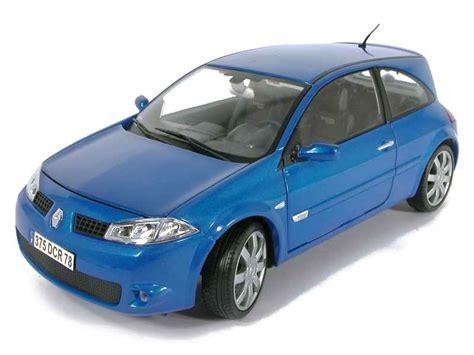 renault megane 2004 blue renault megane ii rs 2004 burago 1 18 autos