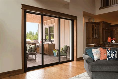 Glass Patio Doors by Replace Your Patio Doors With Milgard Stacking Glass Walls