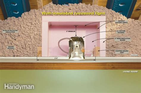 insulation around recessed lighting can you put insulation around recessed lights industrial