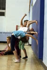 Kids Doing Gymnastics Handstand