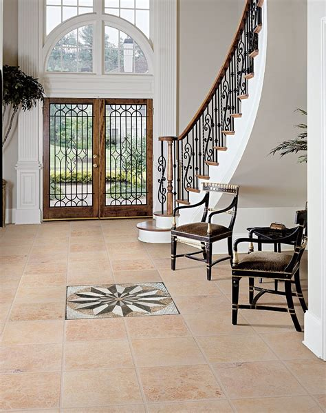 Kitchen Centerpiece Ideas - 15 floor tile designs for the foyer