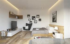 Bedroom And Living Room Designs - House Decor Picture