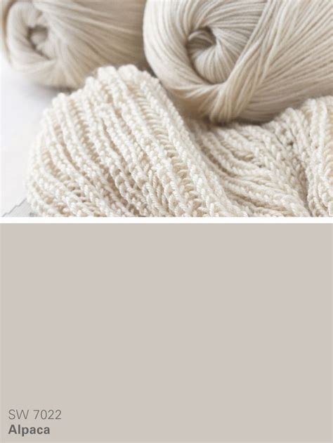 sherwin williams neutral paint color alpaca sw 7022