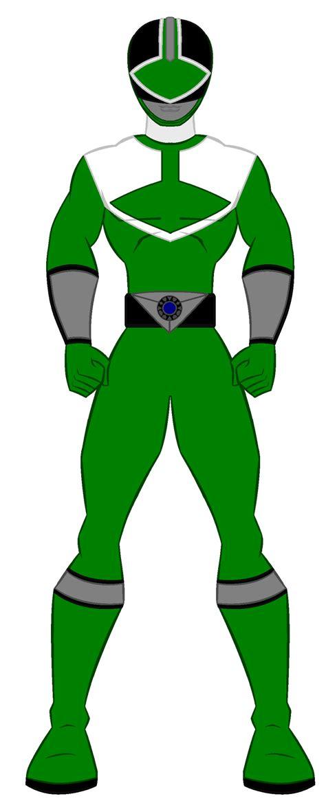 9 power rangers time green ranger by