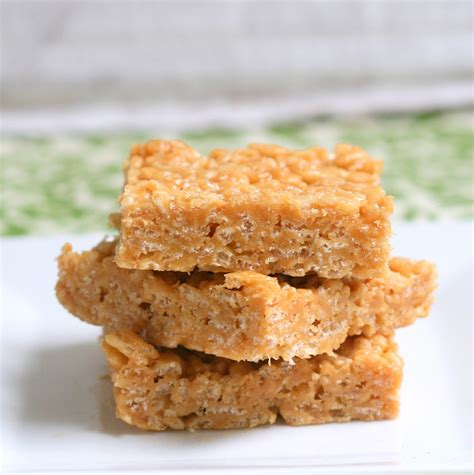 peanut butter treats mix it up peanut butter rice crispy treats