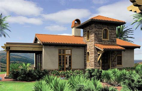 Mediterranean Guest Home Plan Or Vacation Retreat