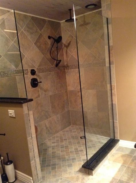 diy tile shower experienced diy remodelers transform their master bathroom