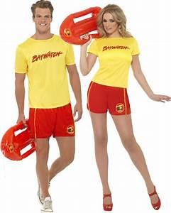 Déguisement Couple Célèbre : couple de sauveteur plage deguisement adulte en couple le ~ Melissatoandfro.com Idées de Décoration
