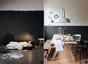 Zwei Wände Farbig Streichen : pintar el sal n en dos colores ideas ~ Markanthonyermac.com Haus und Dekorationen