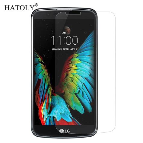 2pcs screen protector sfor lg k10 glass tempered glass for