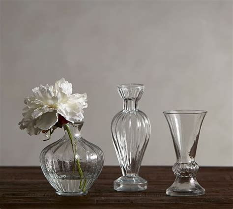 Glass Bud Vase, Eclectic Set of 3   Pottery Barn
