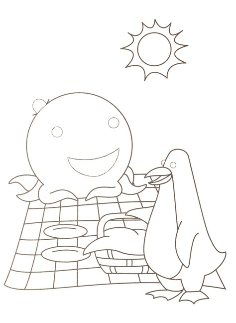 Oswald The Octopus Coloring Pages Wwwpixsharkcom