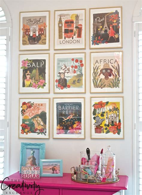 rifle paper framable wall calendars