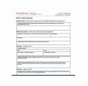 Training Document Template