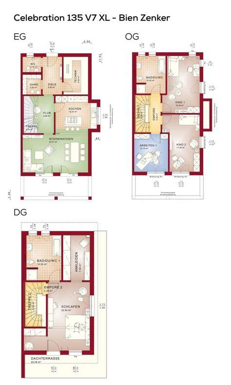 Moderne Doppelhaushälfte Grundrisse by 20 Besten Grundriss Doppelhaush 228 Lfte Bilder Auf