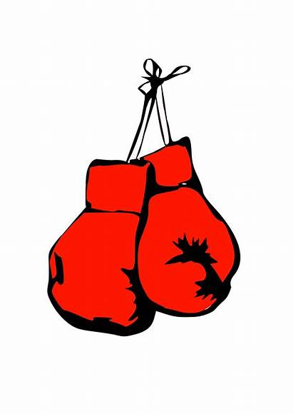 Boxing Gloves Clip Hanging Clipart