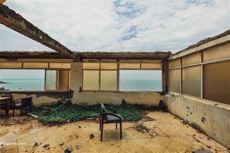 abandoned hotel sea view vungtau vietnam